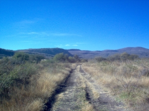 This long and broken road leads to La Yacata.