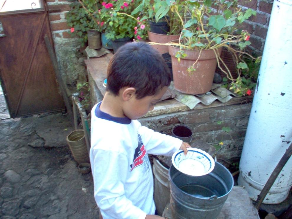 more bucket washing