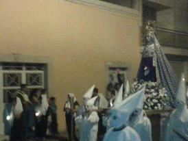 Procession of silence