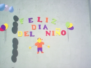 El Día del Niño Children's Day April 30th