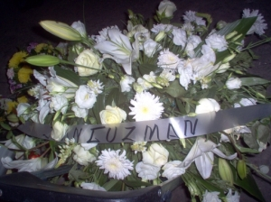 Flowers sent from the PRD candidate, later elected President of Moroleon