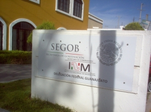 SEGOB the immigration office in San Miguel de Allende