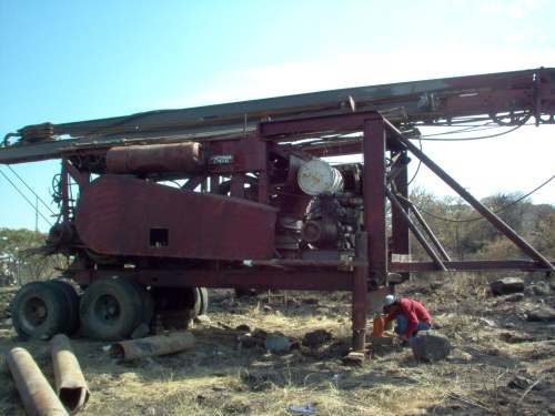 pozo hole driller