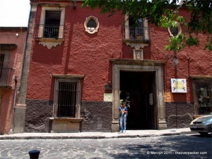 This is where the U.S. consulate used to be in San Miguel de Allende