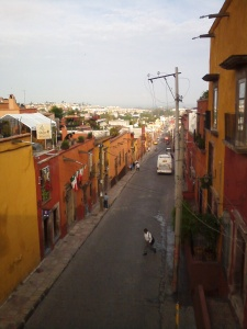 Taking the scenic route through San Miguel de Allende