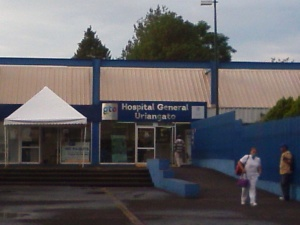 Regional Hospital in Uriangato.
