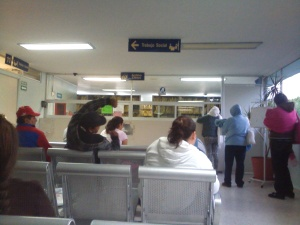 Archivos at the Regional Hospital in Uriangato