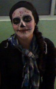 face paint catrina