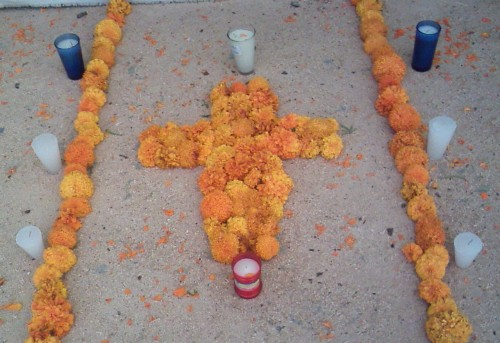marigold cross