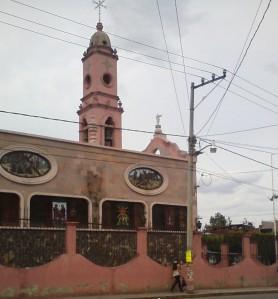 El templo in Cerano.
