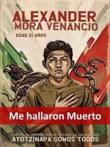 In memory of Alexander Mora Venancio