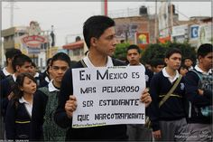 In Mexico, it is more dangerous to be a student than a drug trafficker.