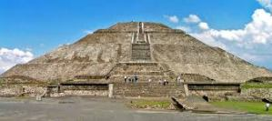 The Pyramid of the Sun is the largest building in Teotihuacan and one of the largest in Mesoamerica.