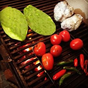roasted nopal