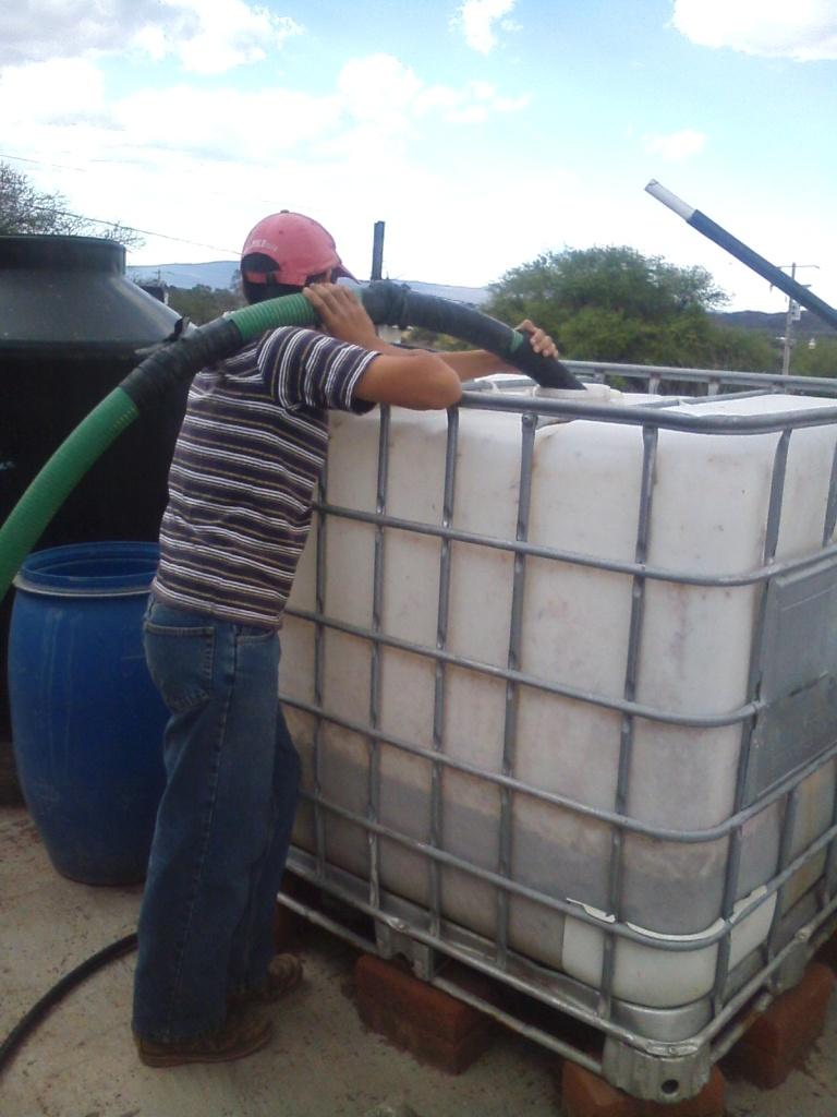 water filling