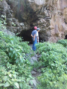 Cave exploration outside of Cerano, GTO.