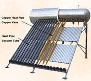 Solar water heaters are readily available in our area, but just won't work for us.