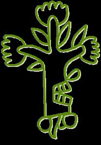 avocado pictograph