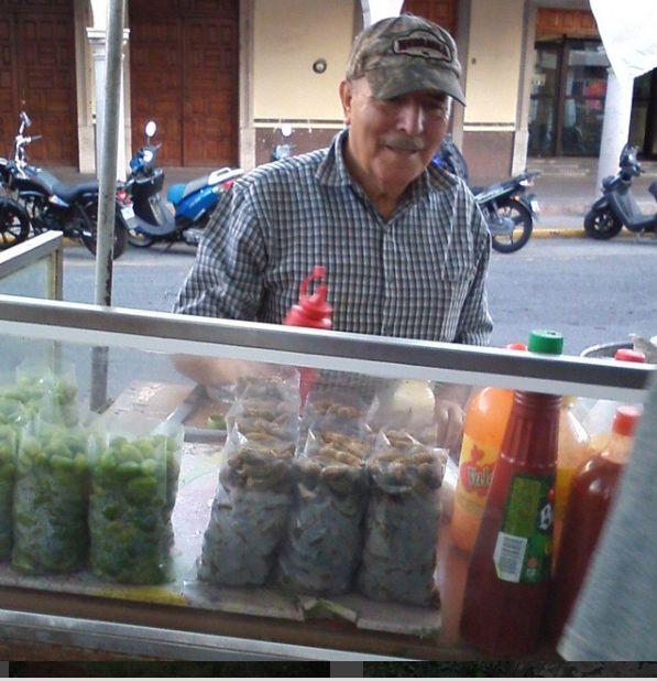 peanut seller