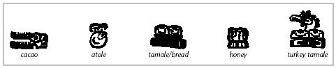 tamal hieroglyph