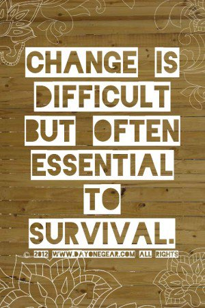 change survival