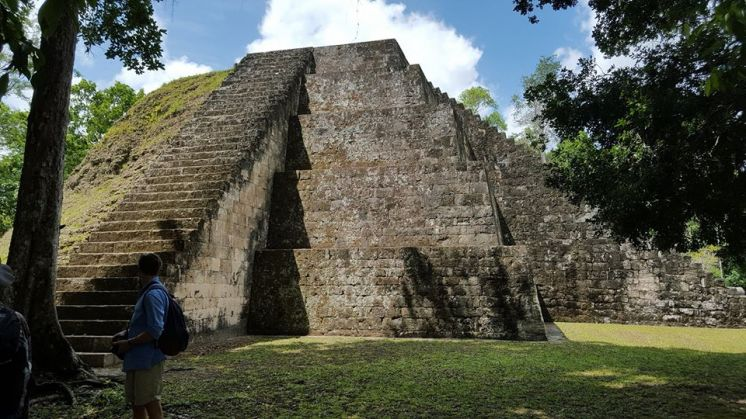 "The pyramids are in Tikal, a national park that has ancient Mayan pyramids that date back thousands of years, much like those in Mexico. One of Guatemala's mottos is ""Guatemala, corazón del mundo Maya"