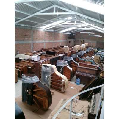 warehouse piano
