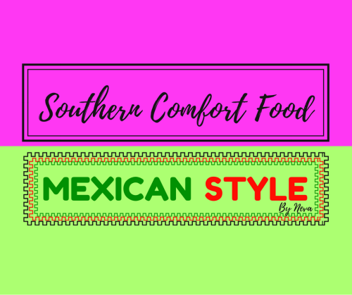 Southern Comfort Food logo pink and green