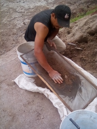 The sand is sifted. It isn't the same sand used in construction.