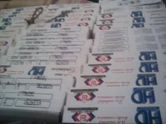 69 boxes of tile