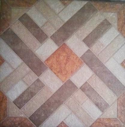 The tile we chose.