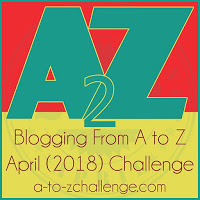 2018 A to Z Blogging Challenge Theme Reveal