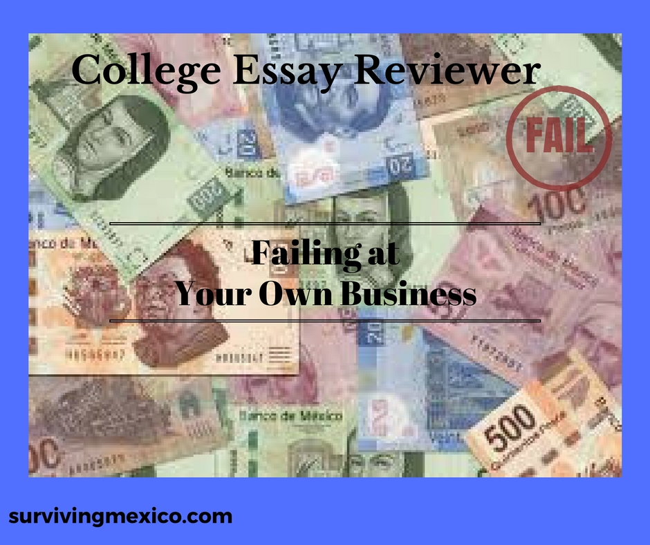Example Of Thesis Statement For Essay  English Essay Questions also Example Essay Thesis Statement Failing At Your Own Businesscollege Essay Reviewer  Surviving Mexico Essay On Business Ethics