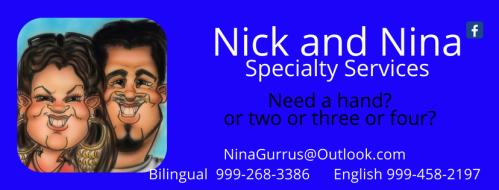 https://www.facebook.com/NickAndNinaSpecialtyServices/